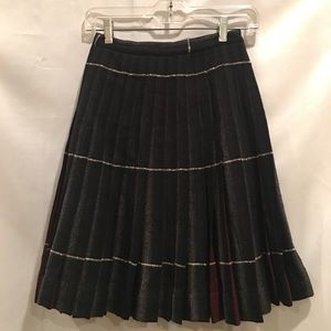 Vintage Pendleton Wool Pleated Skirt